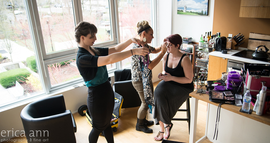 Behind the Scenes Glamour Photography Boudoir Makeover