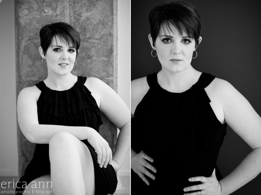 Behind the Scenes Glamour Photography Boudoir Black and White