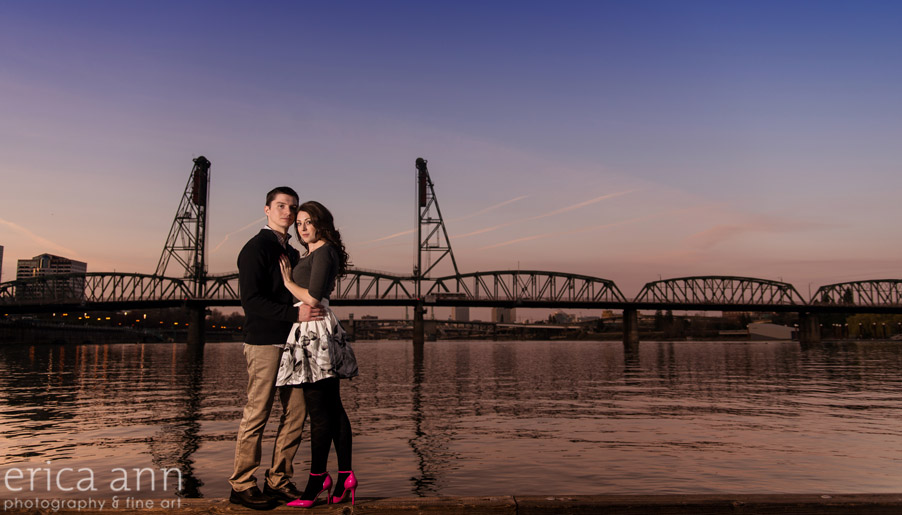 Portland Waterfront Engagement Session