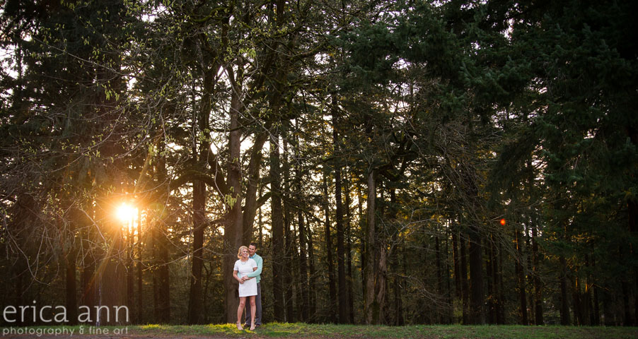Mt Tabor Engagement Session