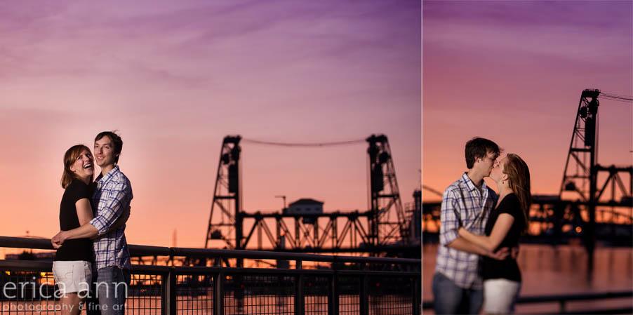 portland-sunset-engagement
