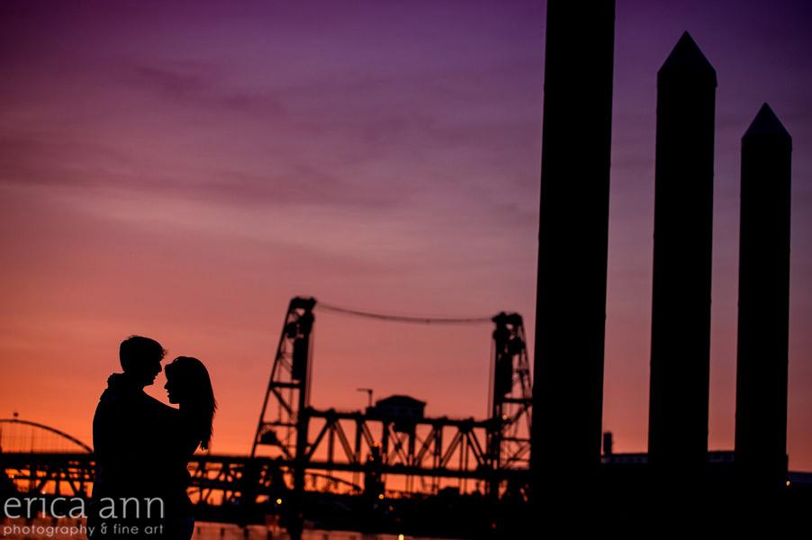 beautiful-portland-sunset-engagement