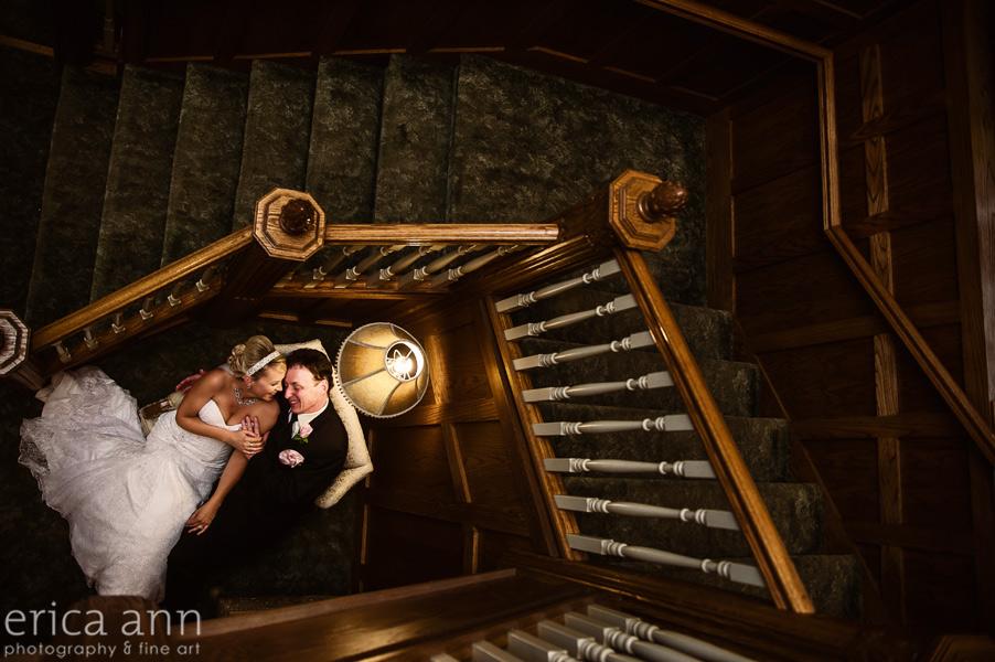 White House Wedding Staircase