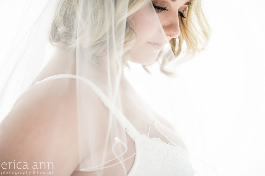 bridal veil boudoir