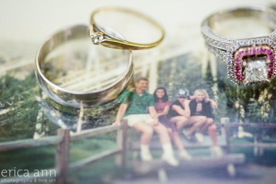 Promise Rings Bride and Groom