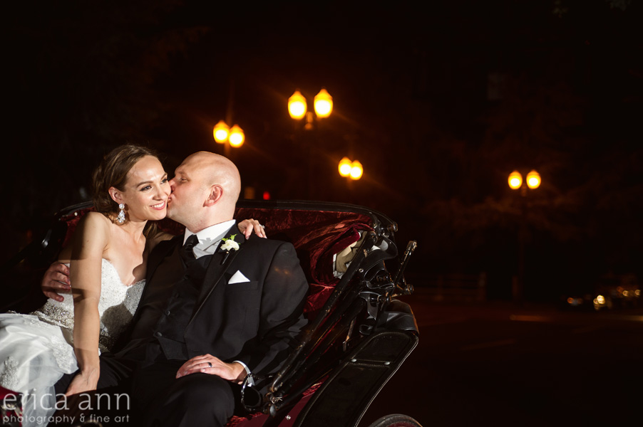 The Tiffany Center Wedding Carriage