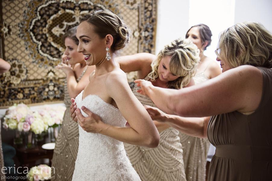 The Tiffany Center Wedding Getting Ready