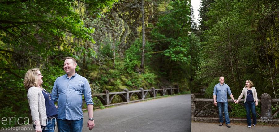 Old Highway Gorge Engagement