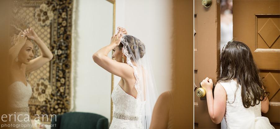 The Tiffany Center Wedding Bride Getting ready