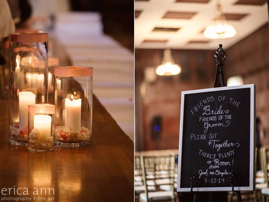 The Tiffany Center Wedding Ceremony Site