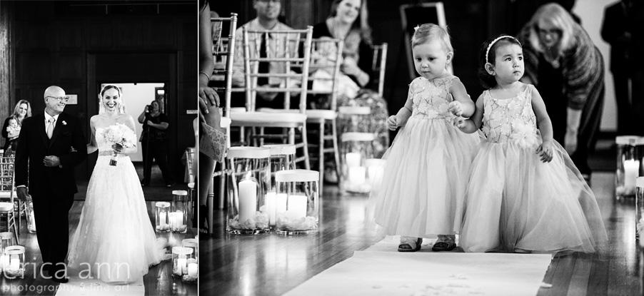 The Tiffany Center Wedding Flowergirls