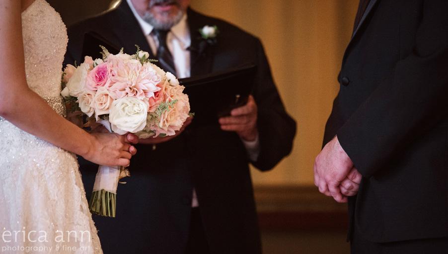 The Tiffany Center Wedding bouquet