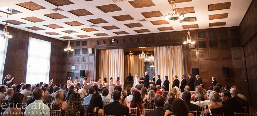 The Tiffany Center Wedding Ceremony