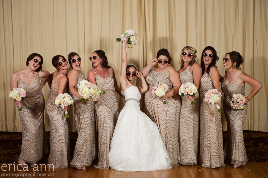 The Tiffany Center Wedding Bridesmaids
