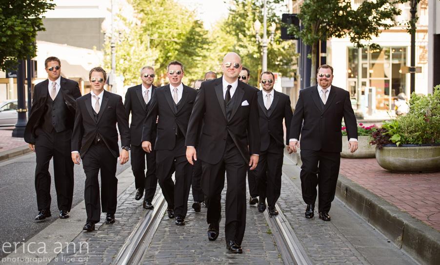 The Tiffany Center Wedding Groomsmen