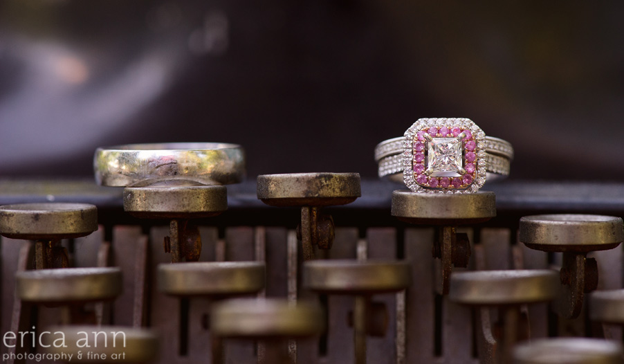 Big ass pink wedding ring