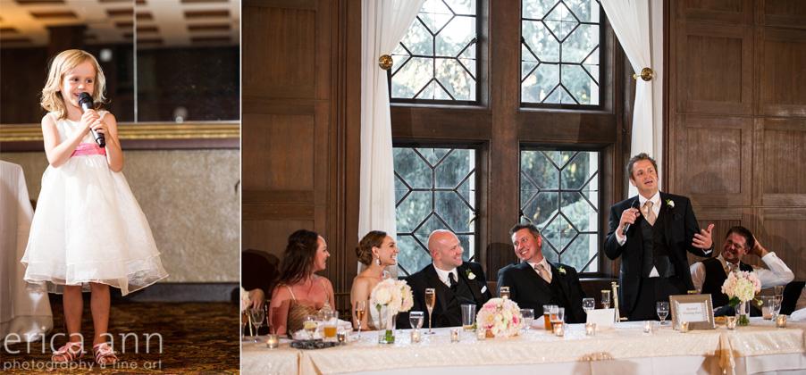 The Tiffany Center Wedding Toasts