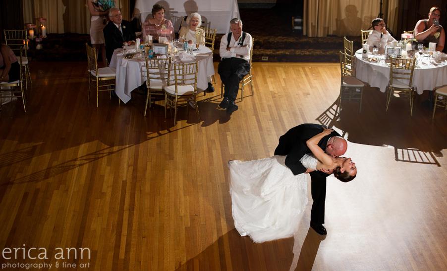 The Tiffany Center Wedding First Dance