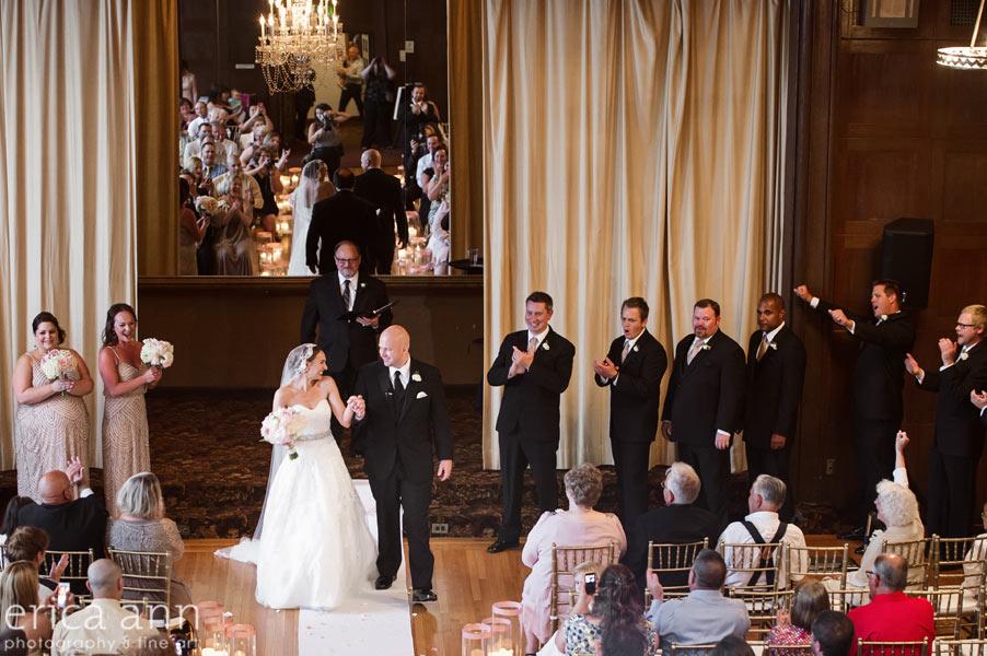 Tiffany Center Wedding