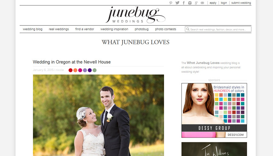 Portland Wedding Blog Junebug Weddings