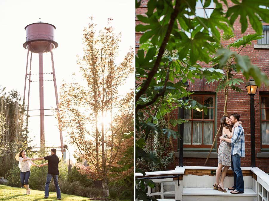 Creative Portland Engagement Photographers