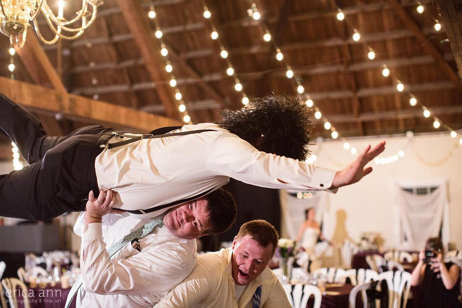 Green Villa Barn Reception