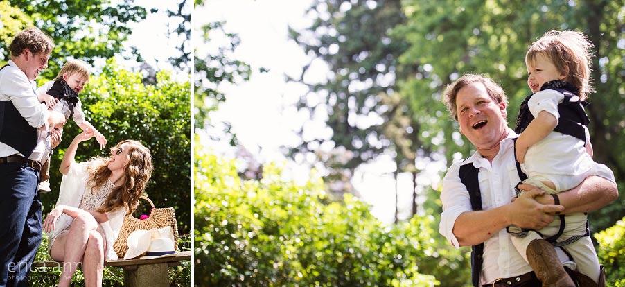 Willamette Valley Garden Engagement