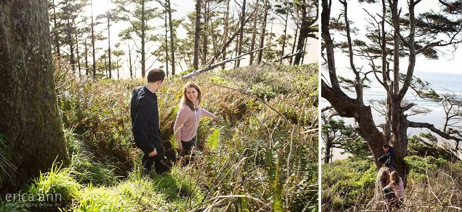 Oregon Coast Engagement Photographer