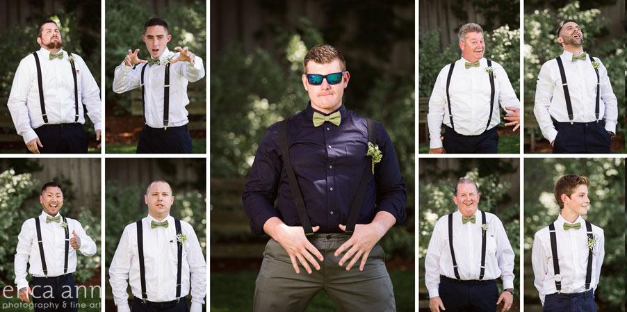 Wilmes Hop Farms Wedding groomsmen