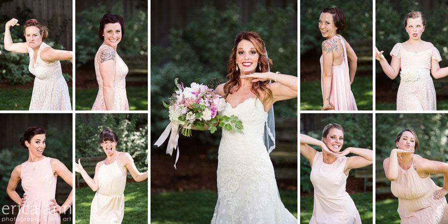 Wilmes Hop Farms Wedding bridesmaids