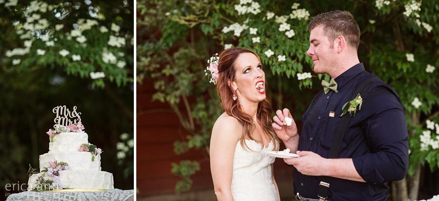 Wilmes Hop Farms Wedding Reception