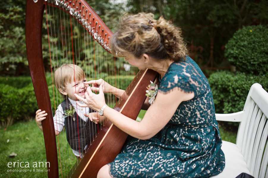 Historic Deepwood Estate Wedding Harp