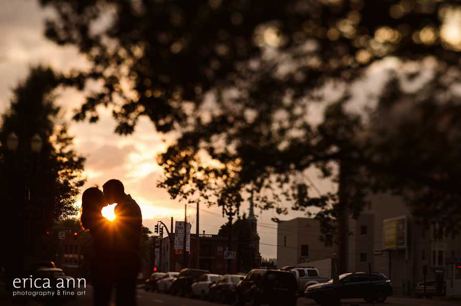 Downtown Portland Engagement