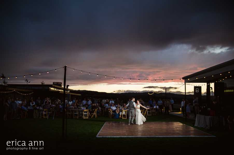 Ponzi Winery Wedding First Dance