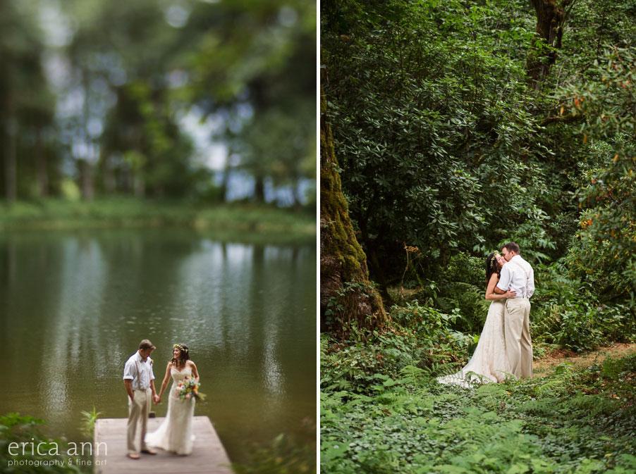 Bridal Veil Lakes Wedding Photos