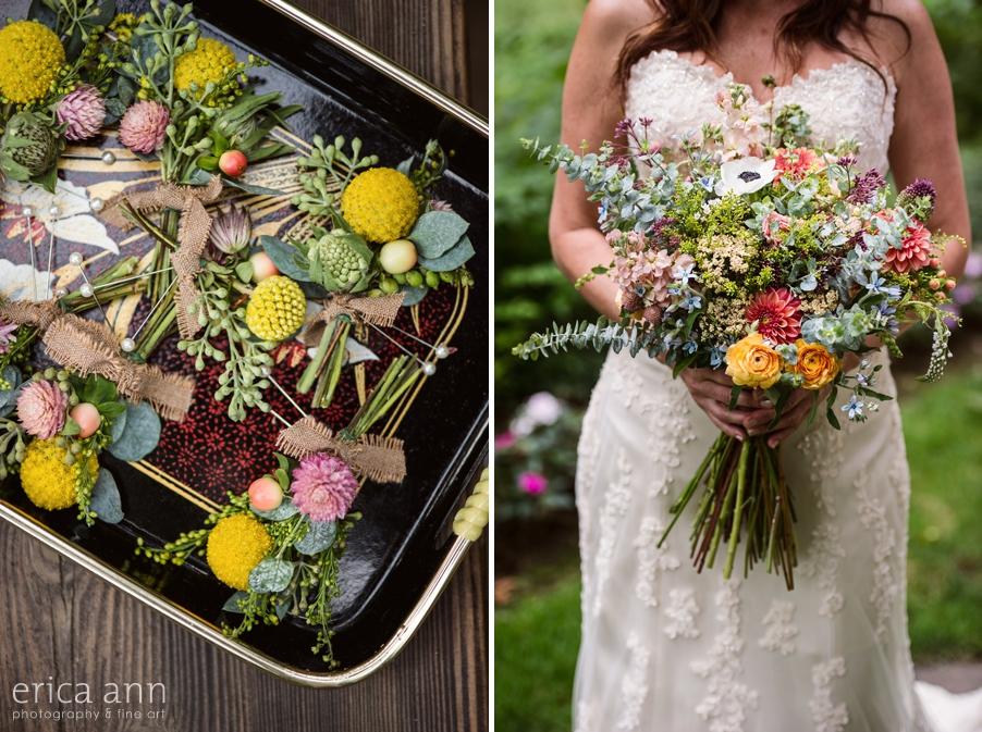 Portland Wedding Photographer Boutonierres