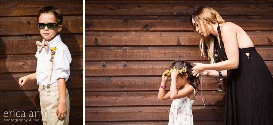 Portland Wedding Photographer Flower Girl