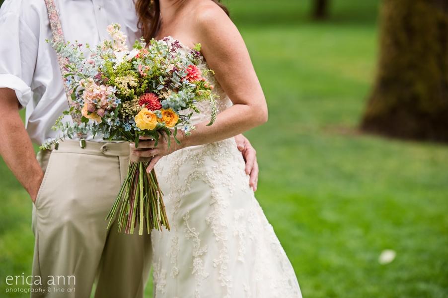 Portland Wedding Photographer Bouquet