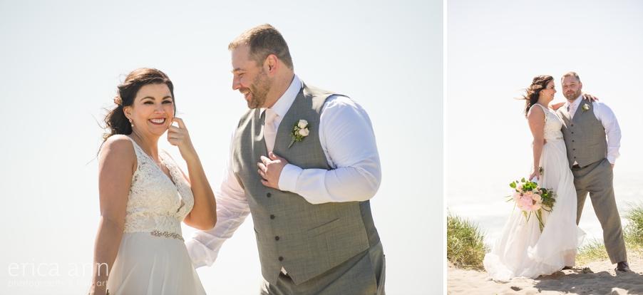 Pacific City Beach Wedding