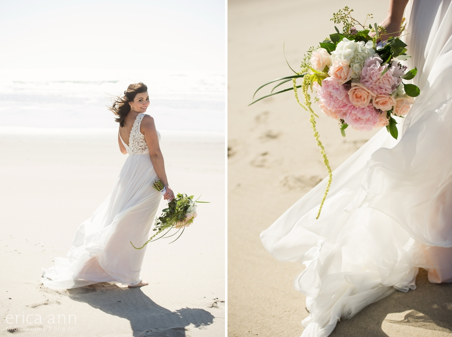 Pacific City Beach BHLDN Wedding Dress