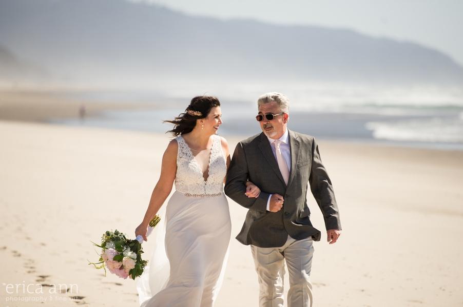 Pacific City Oregon Coast Wedding
