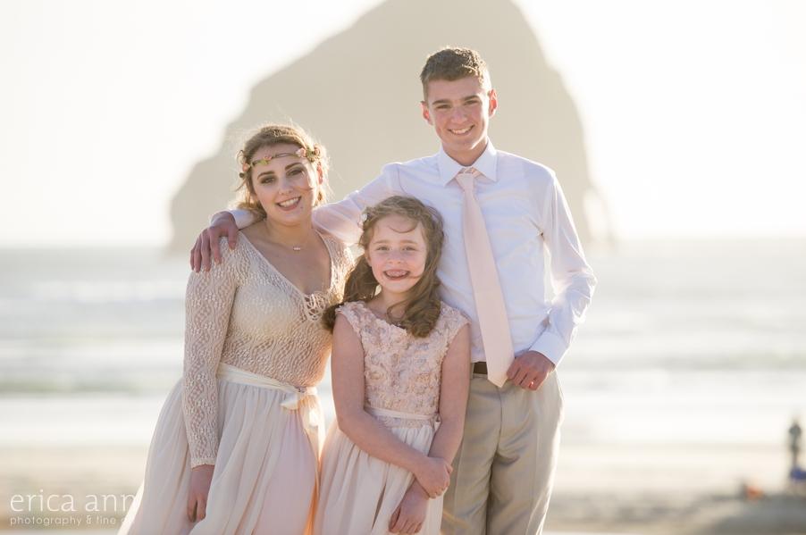 Pacific City Oregon Wedding