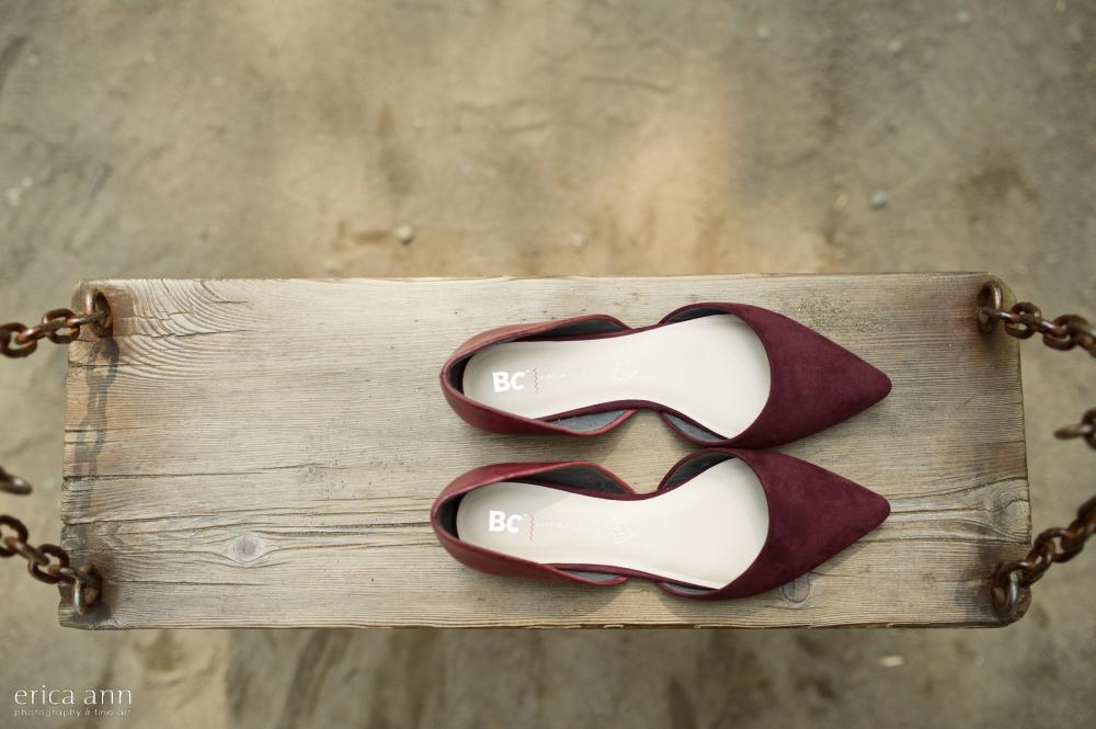 Bridal Veil Lakes Wedding Shoes