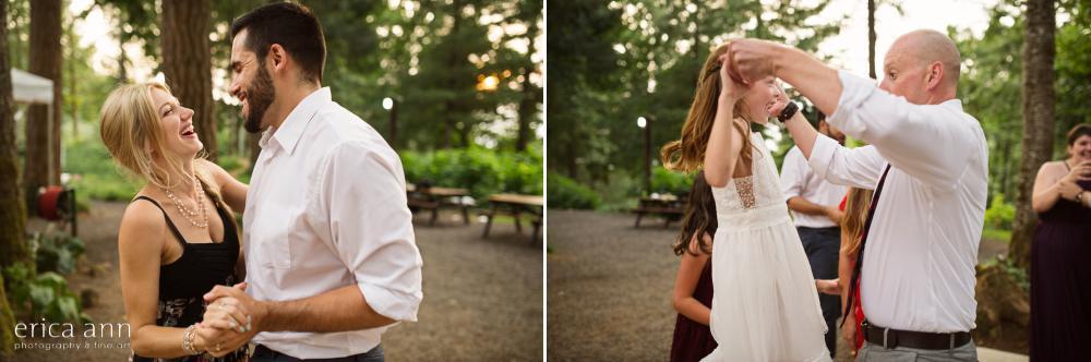 Bridal Veil Lakes Wedding Reception