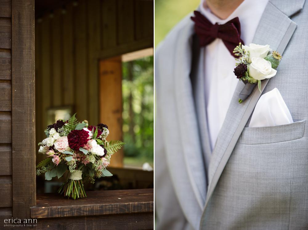 Bridal Veil Lakes Wedding Flowers