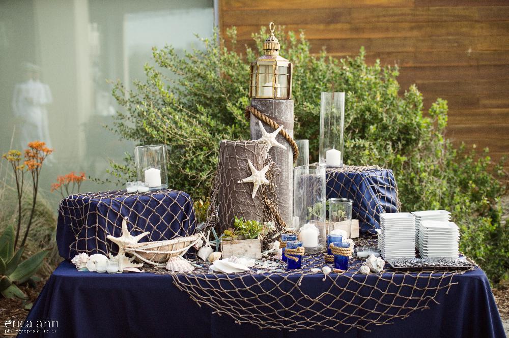 California navy wedding