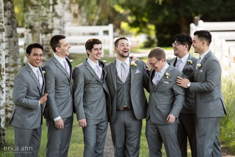 Langdon Farms Wedding Bridal Party