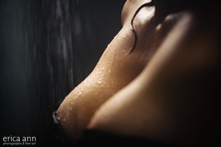 Sexy Shower Boudoir Photoshoot